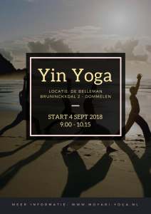 Yin Yoga september 2018